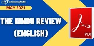 The Hindu Review May 2021 blog image