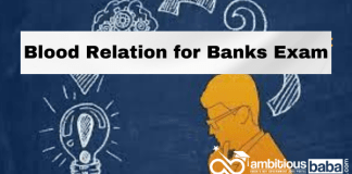 Blood Relation Questions and Answers for Banks Exam