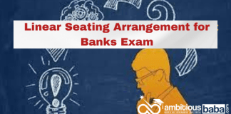 Linear Seating Arrangement for Banks Exam