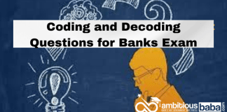 Coding and Decoding Questions and Answers for Banks Exam