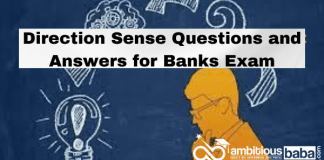 Direction Sense Questions and Answers for Banks Exam
