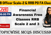 Financial Awareness Free Classes on YouTube for RRB PO and RRB Officer Sclae-2