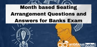 Month Based Puzzle for Banks Exam