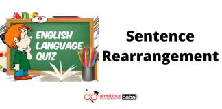 Sentence Rearrangement Quiz