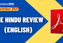 The Hindu Review September 2021 Blog