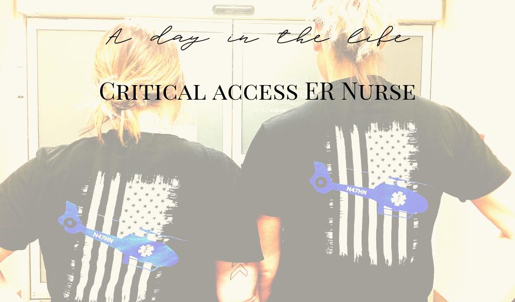 critical access ER ER