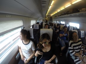 Fast Train interior could run up to 320KM/hr