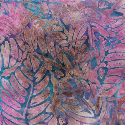 Forest leaf lilac bali fiesta batik by benartex 2