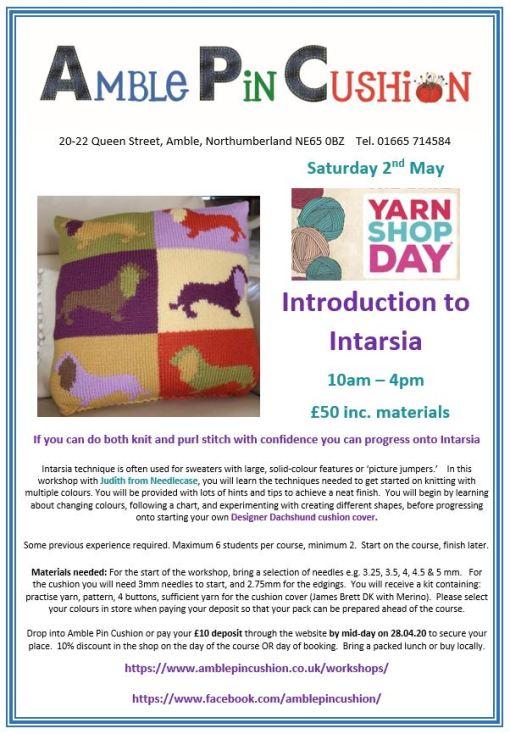 Jpeg Intarsia workshop for yarn shop day