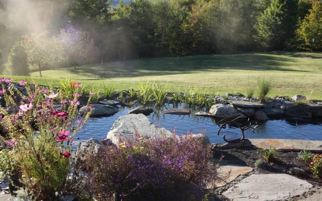 Lakefield Spa: Commercial – Ambler Design Stowe, Vermont