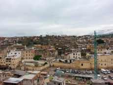 Looking out over the medina in Fes