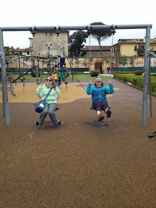 Fooling around in Lucca