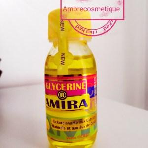 GLYCERINE ECLAIRCISSANTE AU CITRON AMIRA 100% BIO