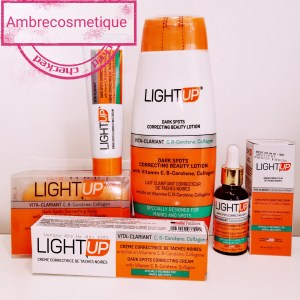GAMME ULTRA ECLAIRCISSANTE LIGHT UP PAPAYA & CAROTTE 4 PIECES