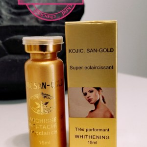SERUM BLANCHISSEUR ACIDE KOJIC GOLD ANTI TACHES TRES PERFORMANT