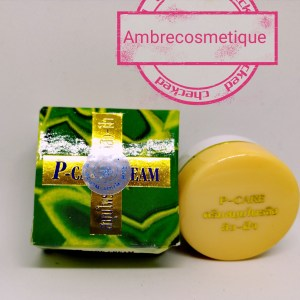 CREME ANTI FARES CONTRE HYPERPIGMENTATION & MELASMA P-CARE