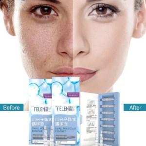 SERUM VISAGE ACIDE HYALURONIQUE ECLAIRCISSANT ANTI OXYDANT HYDRATANT 7 PIECES Comment utiliser le sérum à l'acide hyaluronique Nettoyez et tonifiez votre visage comme vous le feriez normalement. Suivez votre routine de nettoyage de la peau jusqu'à ce que vous ajoutiez de la crème hydratante.