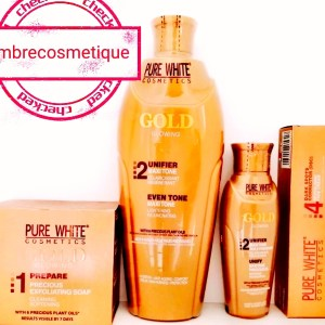 GAMME PURE WHITE GOLD GAMME ECLAIRCISSANTE 4 PIECES