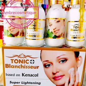 BLANCHISSEUR SERUM TONIC A LA KENACOL AUX ACIDES DE FRUITS ANTI TACHES SUPER ECLAIRCISSANT 1 PIECE