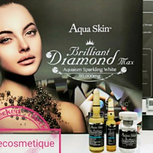 AQUA SKIN BRILLIANT DIAMOND MAX ANTI-ÂGE & ANTI-TACHES INJECTION BLANCHISSANTES ACTION RAPIDE