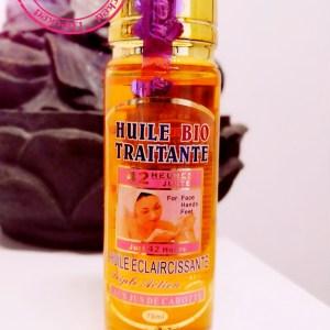 HUILE EXTRA ECLAIRCISSANTE ACIDES DE FRUITS CONCENTREE  ANTI TACHES 42 HEURES