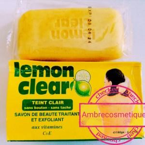 ECLAIRCISSANT LEMON CLEAR ANTI TACHES FAST ACTION SAVON