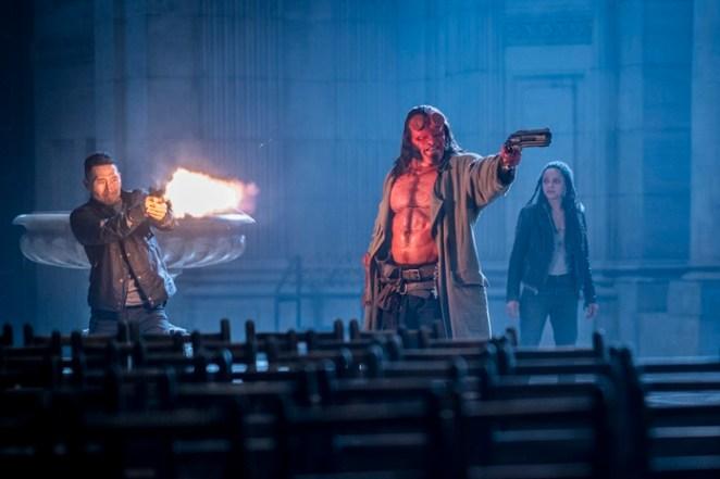 """- HB D047 08350 R - """"Hellboy"""" versão 2019 perde a chance de criar uma nova franquia para o personagem"""