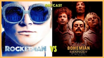Rocketman vs Bohemian Rhapsody no Outcast! | Bohemian Rhapsody | Revista Ambrosia