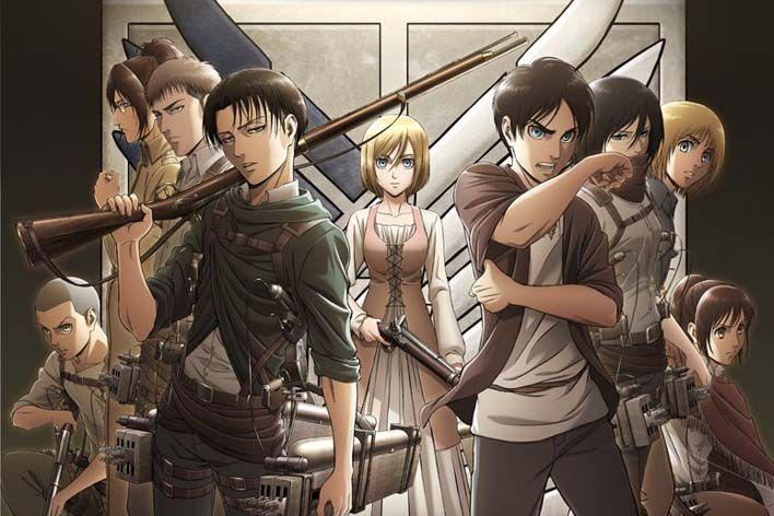 - Attack on Titan - Temporada final de Attack on Titan chega em 2020