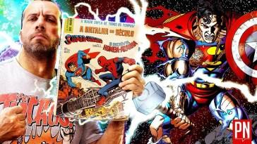 Tudo sobre os crossovers Marvel vs DC nos quadrinhos | vingadores vs liga da justiça | Revista Ambrosia