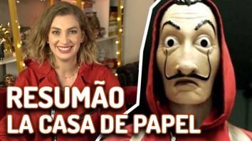 La Casa de Papel - Resumão das temporadas 1 e 2! | Videocast | Revista Ambrosia