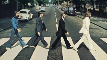 - abbey road capa - Beatles anunciam versão comemorativa de 50 anos do disco Abbey Road