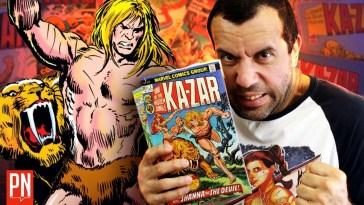 O primeiro herói da Marvel: Ka-Zar | pipocananquim9216484931 | Revista Ambrosia