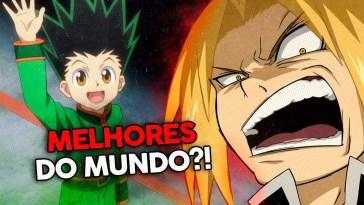 Os melhores animes de todos! (segundo a internet) | mal guto | Revista Ambrosia