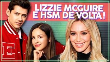 Novas séries da Disney! High School Musical e Lizzie McGuire de volta 😱   HSM D23   Revista Ambrosia