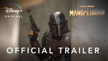 """- sddefault 10 - """"The Mandalorian"""", série live action de """"Star Wars"""", tem o primeiro trailer divulgado"""