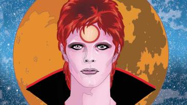 - david bowie hq graphic novel the story of ziggy stardust quadrinhos noticias revista ambrosia - Bowie: Stardust, Rayguns e Moonage Daydreams – graphic novel ilustra vida de David Bowie