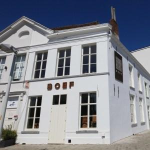 Restaurant Boef in Oudenaarde : verschillende cortenstaal elementen