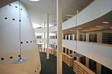 A Tudásközpont belső tere