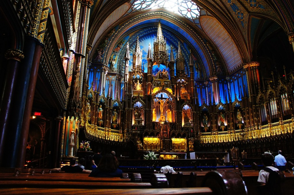 montreal notre dame church