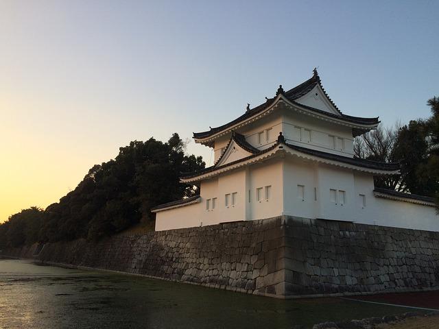 japan - nijo castle