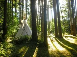 Tipi Village Retreat, Marcola, Oregon