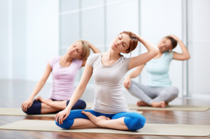 Ambuja Yoga group sessions