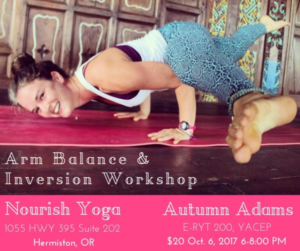 yoga workshop hermiston
