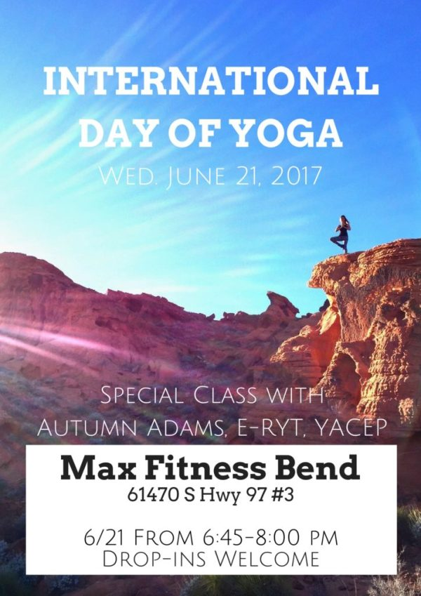Bend International Yoga Day