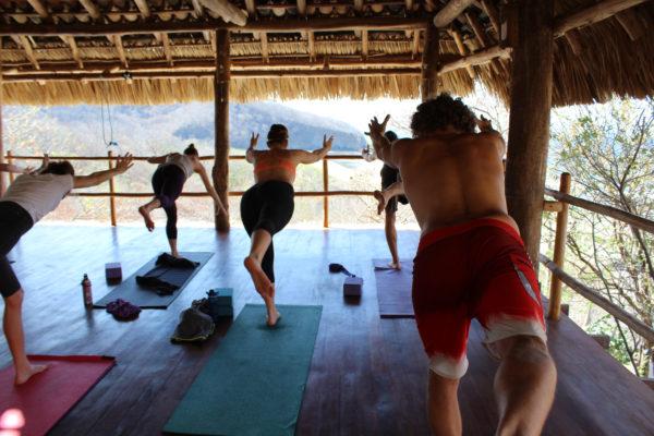 yoga surf retreat nicaragua