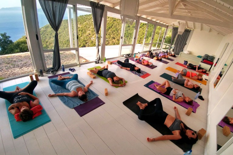 yoga retreats in Greece 2019