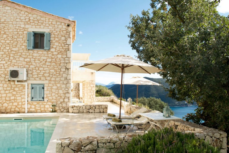 luxury yoga retreat in Greece