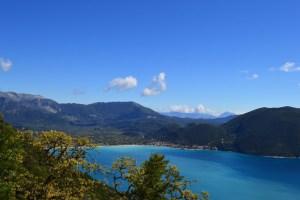 europe yoga retreat greece with amazing view