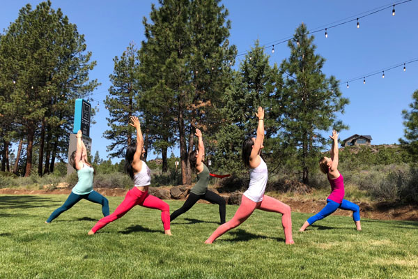 outdoor yoga classes Bend Oregon